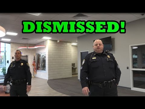 BATTLE CREEK POLICE (DISMISSED) Intimidation FAIL! 1st Amendment Audit