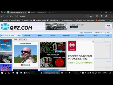 Amateur Radio Callsign search websites that are very useful
