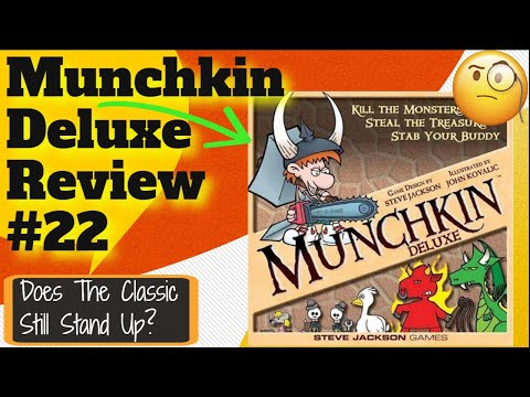 Bowers Game Corner Munchkin Deluxe Review Youtube