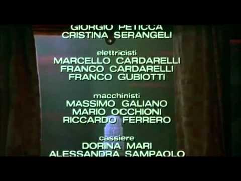 Capriccio (titoli di coda) - Tinto Brass, 1987