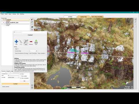 Geological models from photogrammetry   GEOREKA Software