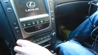 GTA Car Kits - Lexus GS 2006-2011 install of iPhone, Ipod and AUX adapter for factory stereo