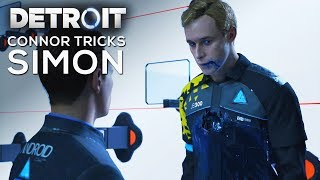 Connor Tricks Simon by Pretending to Be Markus - DETROIT BECOME HUMAN