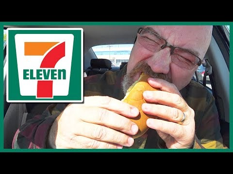 7-Eleven The Big Bite Hot Dog with Nacho Cheese