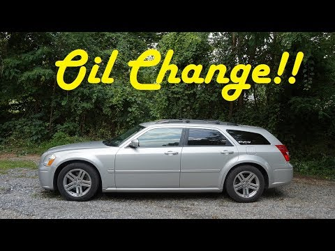 Oil change on a 2005 Dodge Magnum RT 5.7l hemi 'how to'