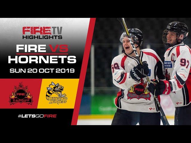 Cardiff Fire v Bracknell Hornets 20/10/19