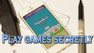 How to play mobile games without getting caught! thumbnail