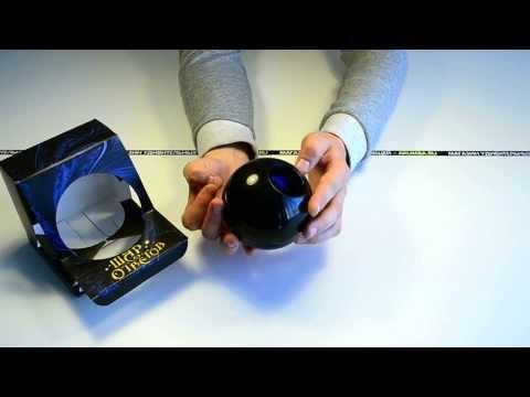 """Идеи подарков: Шар Ответов """"Magic 8 Ball""""  (видео обзор)"""