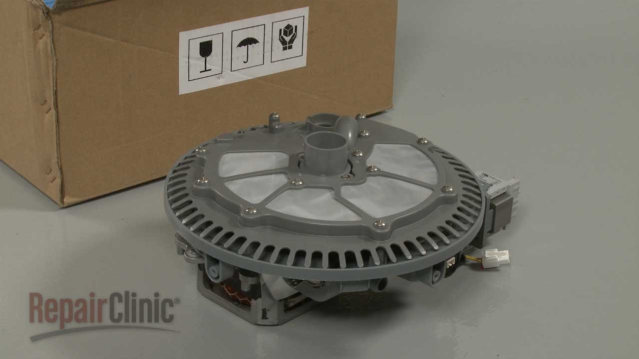Samsung Dishwasher Pump Motor Assembly DD8201126B YouTube