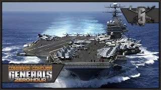 Aircraft Carrier Supremacy - Command & Conquer: Generals Zero Hour - USA Campaign 1&2