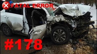 🚘🇷🇺[ONLY NEW] Russian Car Crash Compilation 2019 #178