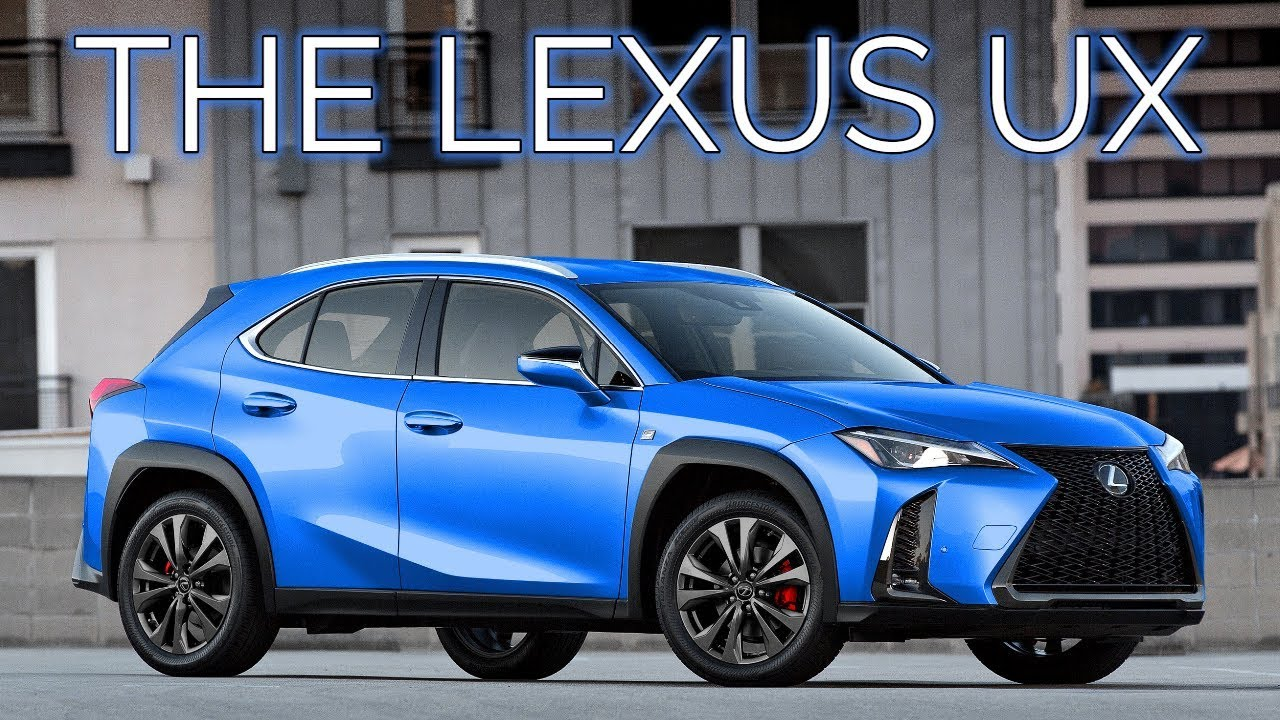 The Smallest Lexus Crossover 2019 Ux Ux200 Ux250h F Sport Details