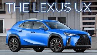 The Smallest Lexus Crossover   2019 Lexus UX UX200 & UX250H F-Sport Details