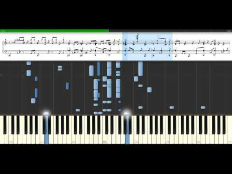 Jamiroquai - Canned heat [Piano Tutorial] Synthesia