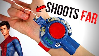 FUNCTIONAL Amazing Spider-Man Web Shooter - SIMPLE MATERIALS DIY!