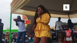 Sista Afia gives amazing performance at 2018 Despite & Special Group Health Fair