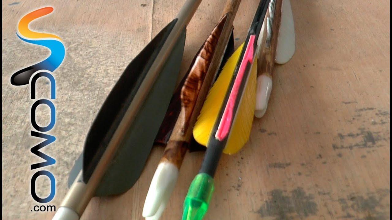 e2c8e37d3 Tipos de flechas (Tiro con Arco) - YouTube