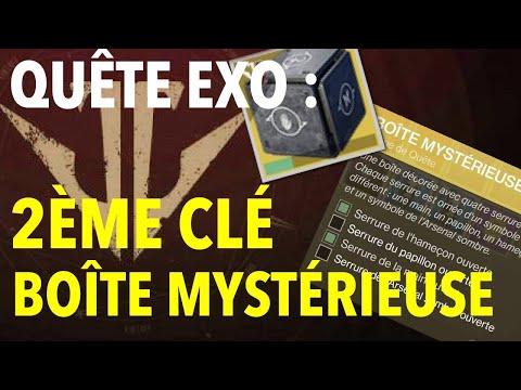 DESTINY 2 : QUÊTE EXO – DEUXIÈME CLÉ (CLÉ DE LA MAIN OUVERTE)