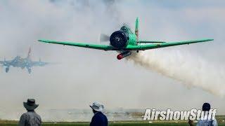 In The Pyro Field With Tora Tora Tora - Terre Haute Airshow 2018