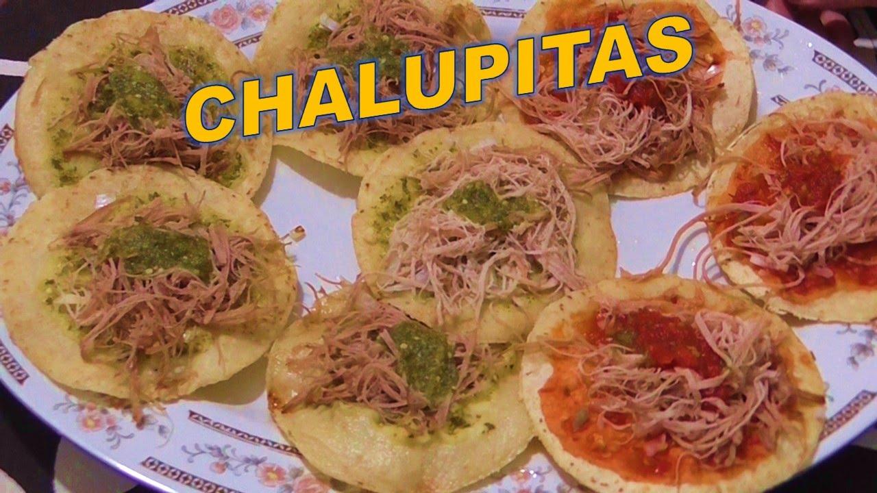 Como Hacer Chalupitas De Puebla Comida O Botanareceta Facilcocina Tradicional Mexicana