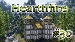 Строим свой дом в Скайриме поместье Озерное - часть 30