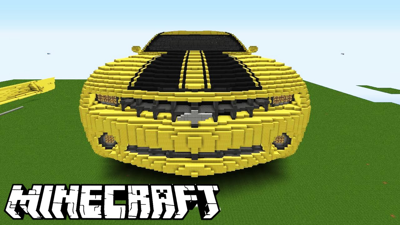 how to build a camaro in minecraft