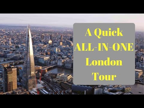 ALL IN ONE London Tour - Beautiful Views From Alexandra Palace