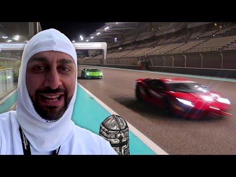 I Race a Lamborghini Aventador S and Performante in Abu Dhabi