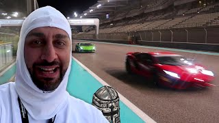 I Race a Lamborghini Aventador S and Performante in Abu Dhabi