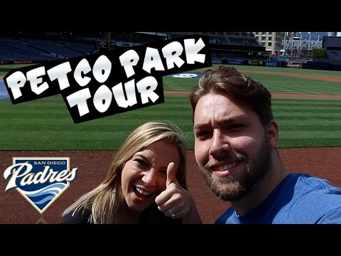 PETCO PARK TOUR VLOG! NICEST STADIUM IVE BEEN TO!