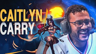 Aphromoo   CARRYING MY TEAM ON CAITLYN ADC