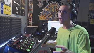 NME - Techno Live Set - Beatbox Looping