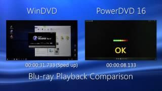 PowerDVD - Blu-ray Startup Comparison Video | CyberLink