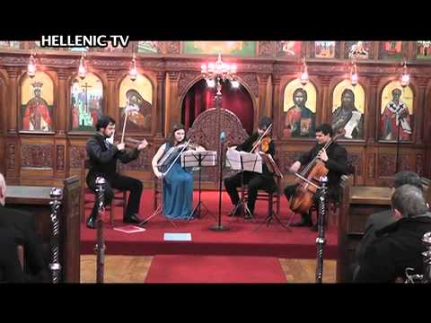 CONCERT 22.11.14 George Zacharias 4tet from the Royal Academy of Music