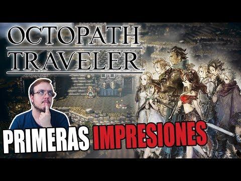 Octopath Traveler-- PRIMERAS IMPRESIONES DE UN JRPG PROMETEDOR.