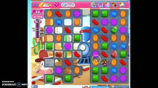 Candy Crush Level 444 w/audio tips, hints, tricks