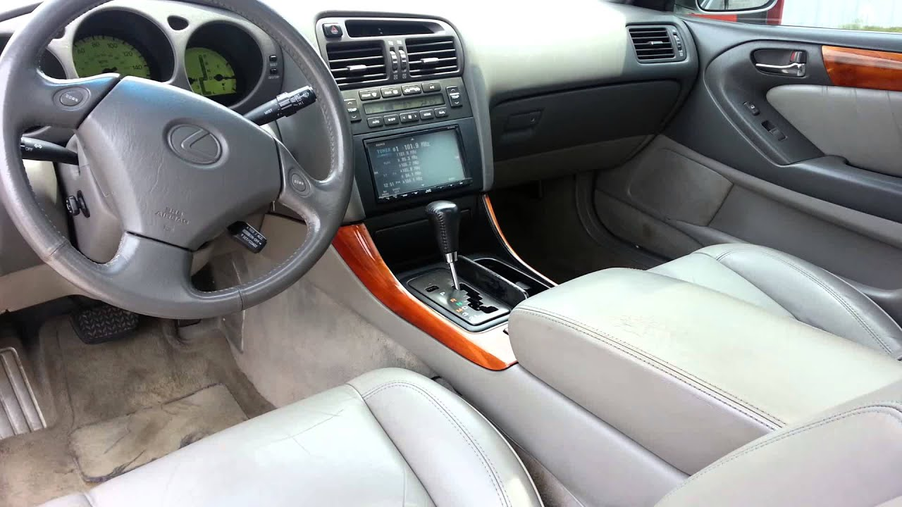 1998 Lexus Gs400 Interior For Sale Youtube