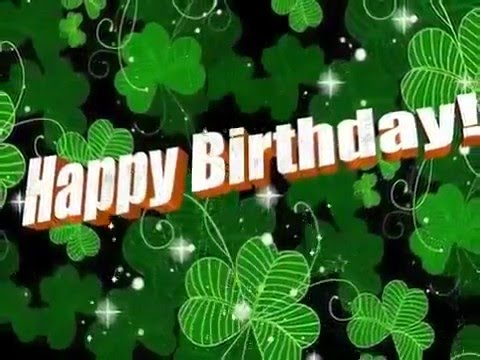 Happy Birthday Irish Style Youtube