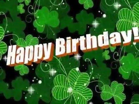 Happy Birthday, Irish Style!