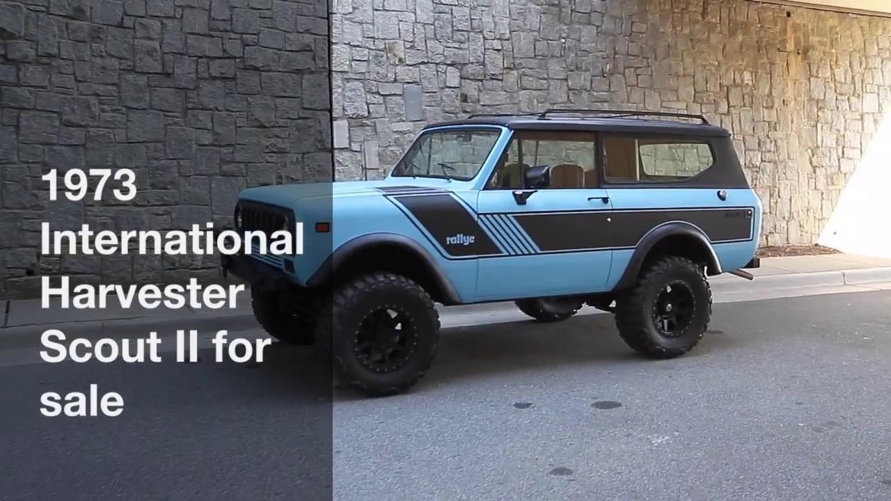 1973 International Harvester Scout II for sale