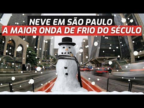 PROBABLIDADE DE NEVE POR 4 DIAS   ONDA DE FRIO NO BRASIL  