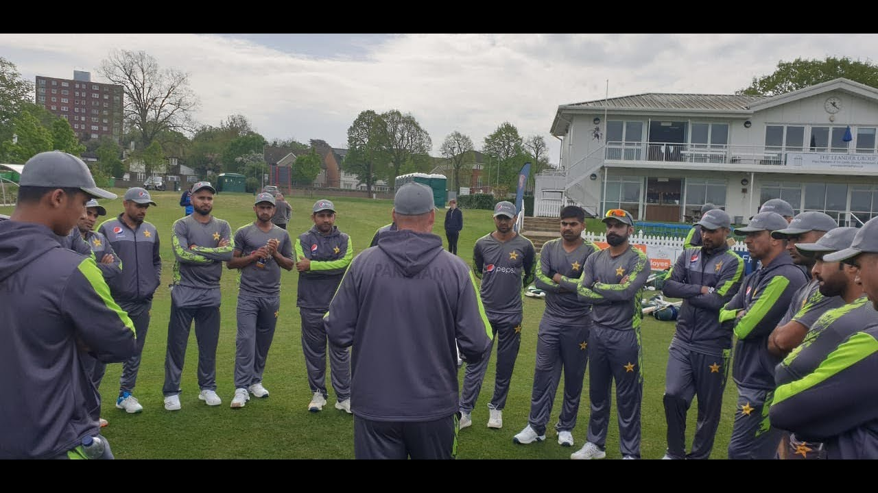 Pakistan Team practice Session at  The County ground Beckenham, Kent