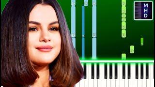Selena Gomez - Same Old Love (Piano Tutorial Easy)