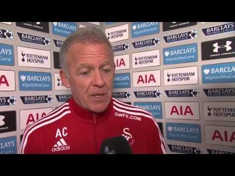 Tottenham 2-1 Swansea Spurs pressure was relentless Alan Curtis