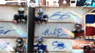 2014 Topps Triple Threads Football 9-Box Case Break #17 - HUGE BOOKLET! 3 1/1