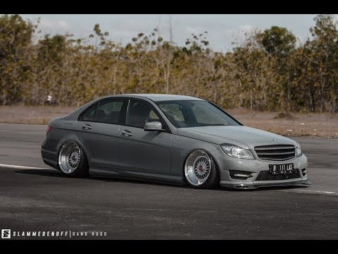 tuning mercedes benz w204 stance youtube. Black Bedroom Furniture Sets. Home Design Ideas