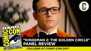 Kingsman 2: The Golden Circle Footage Review - SDCC 2017