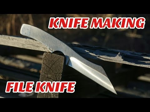 Knife Making - Make a Knife From a File