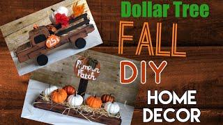 Dollar Tree DIY | Rustic Fall Decor