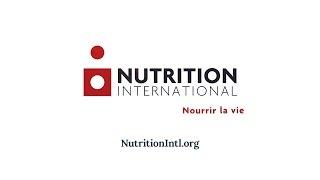 L'Initiative pour les micronutriments est maintenant Nutrition International